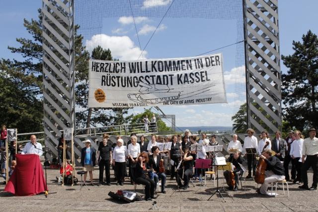 Kasseler Ehrenbürgerschaft A-Punkt-Bode zur Rüstungsstadt